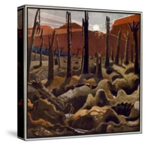Making a New World, British Artists at the Front, Continuation of the Western Front, c.1918 by Paul Nash