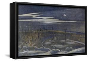 Meadow with Copse, British Artists at the Front, Continuation of the Western Front, Nash, 1918 by Paul Nash