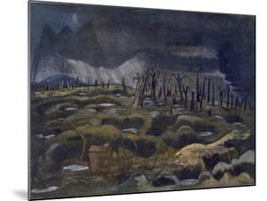 Nightfall, British Artists at the Front, Continuation of the Western Front, Part Three, Nash, 1918 by Paul Nash