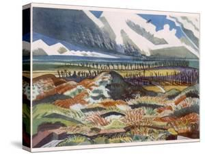 Ruined Country, Vimy, British Artists at the Front, Continuation of the Western Front, Nash, 1918 by Paul Nash