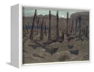 Sunrise, Inverness Copse, from British Artists at the Front, Continuation of the Western Front,… by Paul Nash