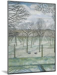 The Orchard by Paul Nash