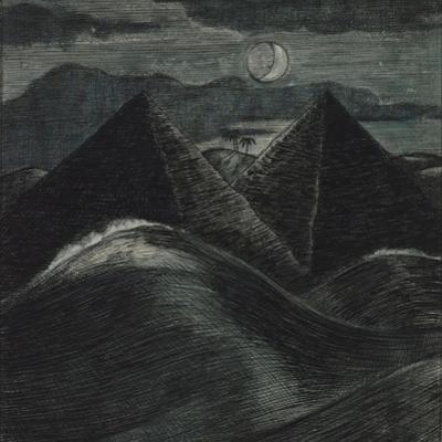 The Pyramids in the Sea by Paul Nash