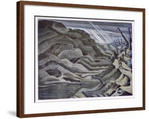 Year of Our Lord 1917, British Artists at the Front, Continuation of the Western Front, Nash, 1918 by Paul Nash