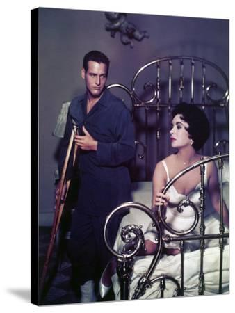"Paul Newman; Elizabeth Taylor. ""Cat on a Hot Tin Roof"" [1958], Directed by Richard Brooks."
