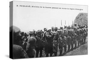 Paul Painlevé Reviewing French Foreign Legion Troops, Morocco, C1926