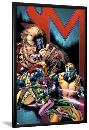 Exiles No.69 Cover: Sabretooth, Blink, Mimic, Morph and Exiles
