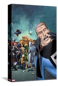 Great Lakes Avengers No.2 Cover: Flatman by Paul Pelletier