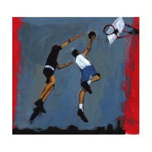 Basketball players, 2009 by Paul Powis