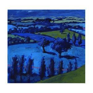 Blue landscape, 2009 by Paul Powis