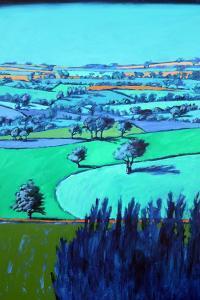 Blue landscape by Paul Powis