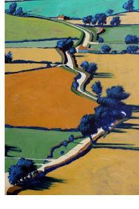 Country Lane Spring by Paul Powis