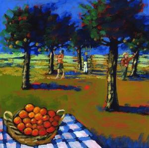 Orange Picking, 2008 by Paul Powis