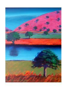 Pink Hill 2 by Paul Powis