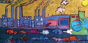 Pollution 2 by Paul Powis