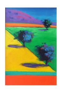 Yellow Field by Paul Powis