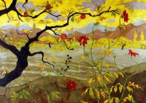 Apple Tree with Red Fruit, c.1902 by Paul Ranson