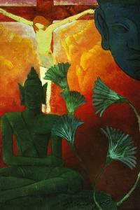 'Christ And Buddha', 1880 by Paul Ranson