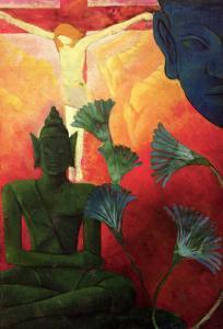 Christ and Buddha, circa 1890-1892 by Paul Ranson