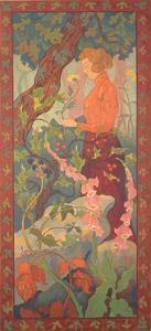 Foxgloves, 1899 by Paul Ranson
