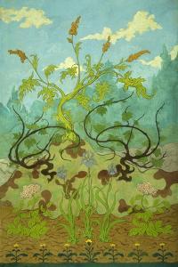 Goldenrod and Mauve Irises; Jaunes Et Iris Mauves, 1899 by Paul Ranson