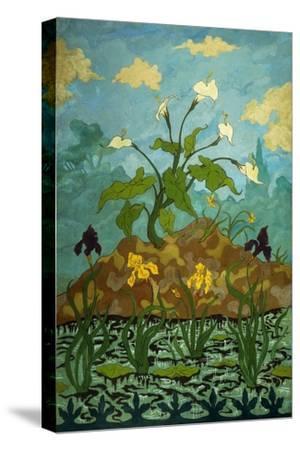 Lilies, Purple and Yellow Irises; Aromes, Iris Violets Et Jaunes, 1899