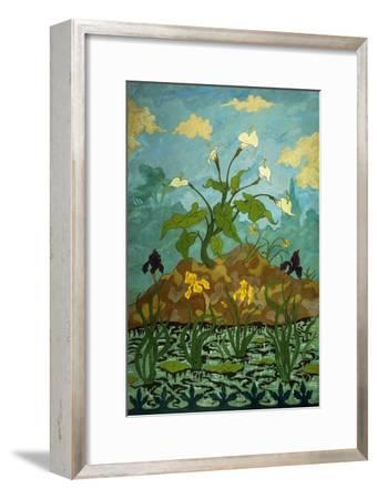 Lilies, Purple and Yellow Irises; Aromes, Iris Violets Et Jaunes, 1899