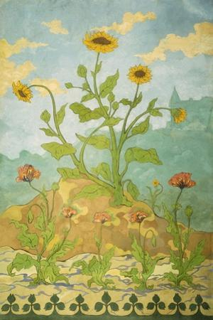Sunflowers and Poppies; Soucis Et Pavots, 1899