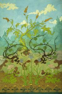 Sunflowers and Poppies by Paul Ranson