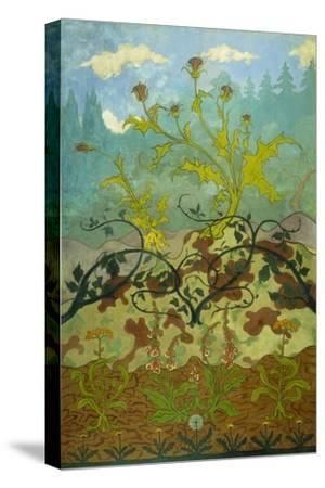 Thistles and Foxglove; Chardons Et Digitales, 1899