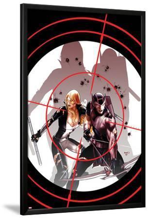 Hawkeye & Mockingbird No.3 Cover: Hawkeye and Mockingbird