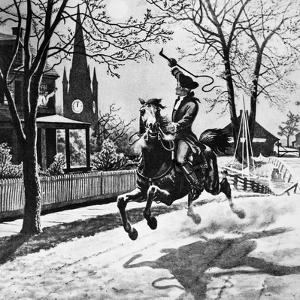 Paul Revere's Ride, 1775