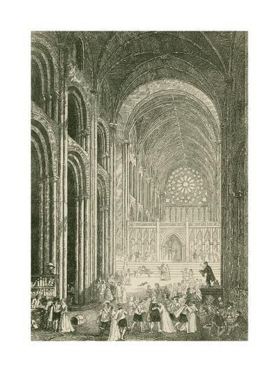 Paul's Walk-John Franklin-Giclee Print