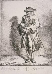 Flint and Steel Seller, Cries of London, 1760 by Paul Sandby