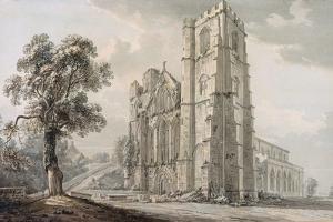 Llandaff Cathedral by Paul Sandby