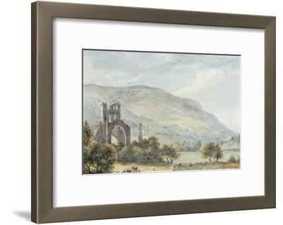Llanthony Abbey, Monmouthshire by Paul Sandby