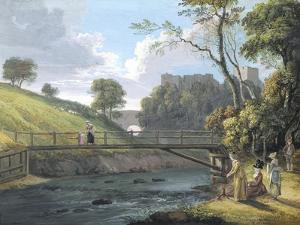 Roslin Castle, Midlothian (W/C and Gouache on Paper) by Paul Sandby