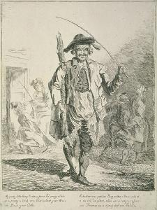 Stick Seller, Cries of London, 1760 by Paul Sandby