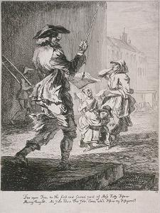 Street Entertainers, Cries of London, 1760 by Paul Sandby
