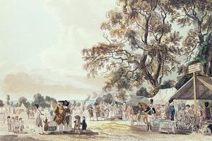 The Encampment in Hyde Park, 1780 by Paul Sandby