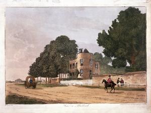 The South Lodge at the Ranger's House, Greenwich, London, 1812 by Paul Sandby