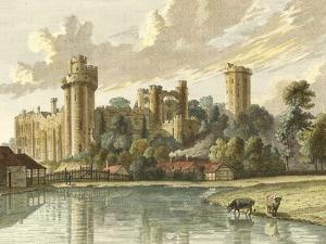 Warwick Castle by Paul Sandby