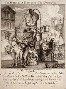 William Hogarth, 1762 by Paul Sandby
