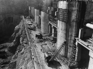 During Construction of the Aswan Dam by Paul Schutzer