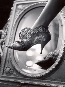 Evening Boot Designed by Roger Vivier For Dior by Paul Schutzer