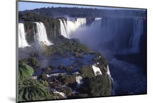 Iquassu (Iguacu) Falls on Brazil-Argentina Border, Once known as Santa Maria Falls by Paul Schutzer