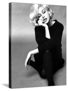 Up Coming Actress Sybil Saulnier Bearing Strong Resemblance to Marilyn Monroe by Paul Schutzer