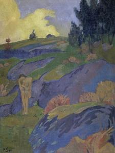 Breton Eve (Melancholy) by Paul Serusier