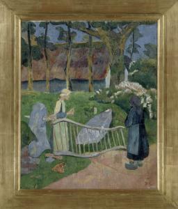 La barrière fleurie, Le Pouldu by Paul Serusier