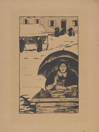 La Marchande Ambulante (The Street Vendor) 1895